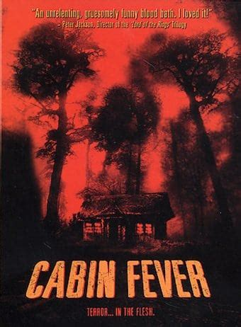 cabin fever dvd 2002 starring rider strong directed by