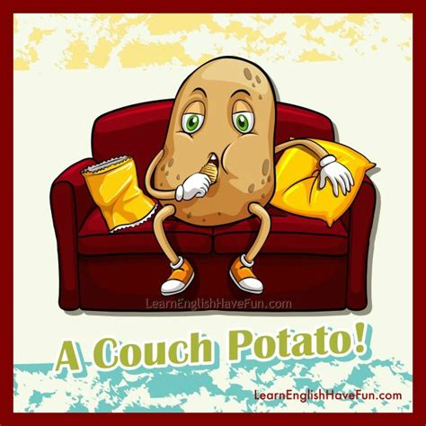 what is the definition of couch couch potato idiom meaning