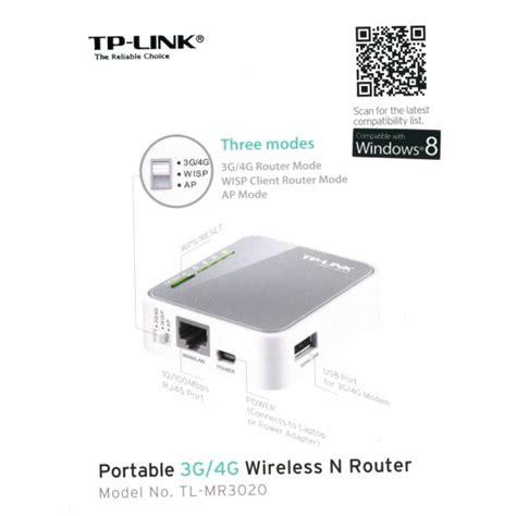 Modem Usb Wifi Tp Link tp link tl mr3020 portable 3g 4g usb modem wireless n wifi