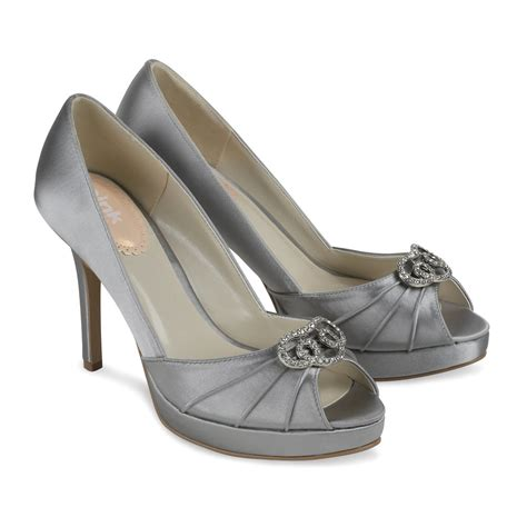 pink occasion shoes silver satin occasion shoes lavish paradox pink