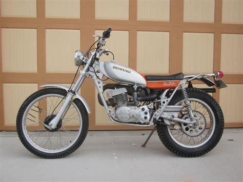 awesome vintage  suzuki rl  exacta trials bike