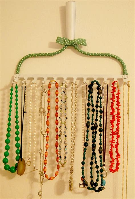 make your own jewelry holder on how to make your own necklace holder diy