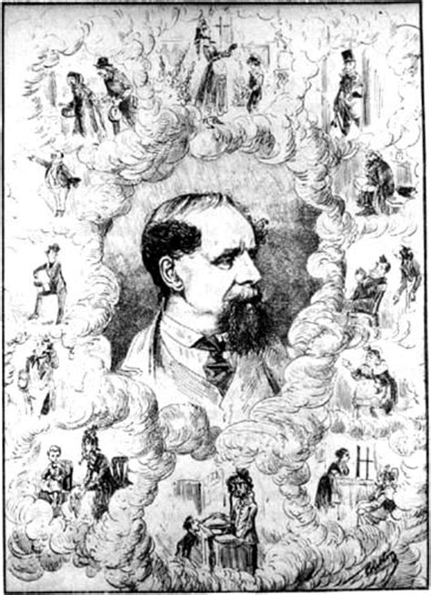charles dickens biography victorian web dickens in caricature dickens among his characters
