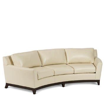 elite leather savoy collection ella sofa bloomingdale s