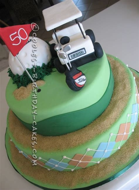golf themed cake decorations themed cakes for the golf enthusiasts