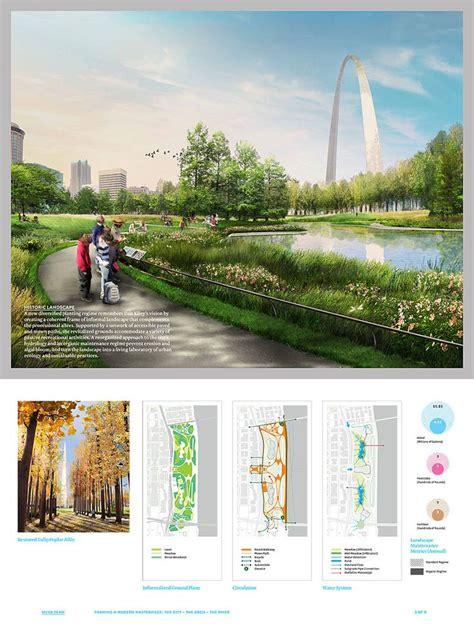 Landscape Architecture Design Competitions 325 Best Images About Landscape Graphics Presentasion On