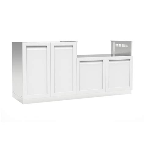 outdoor kitchen stainless steel cabinet doors 4 outdoor stainless steel 2 72x35x22 5 in outdoor kitchen cabinet set with powder