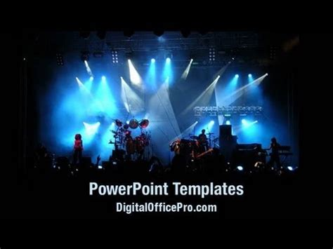 live powerpoint templates live concert powerpoint template backgrounds