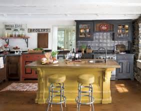 Country Kitchen Color Ideas by Early American Country Kitchen
