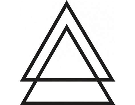 double triangle tattoo meaning 25 best ideas about triangle meaning on
