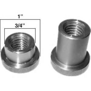 13 8 tap aa 138 a weld on nut 3 8 quot long 1 2 quot 13 thread a amp a