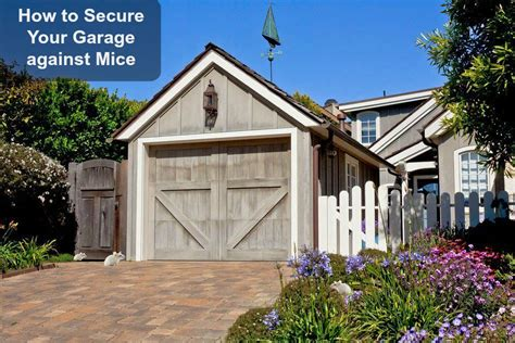 how to a to outside how to keep mice out of the garage