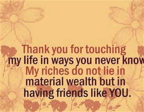 thank you letter friend quotes thank you quotes for friends 104likes