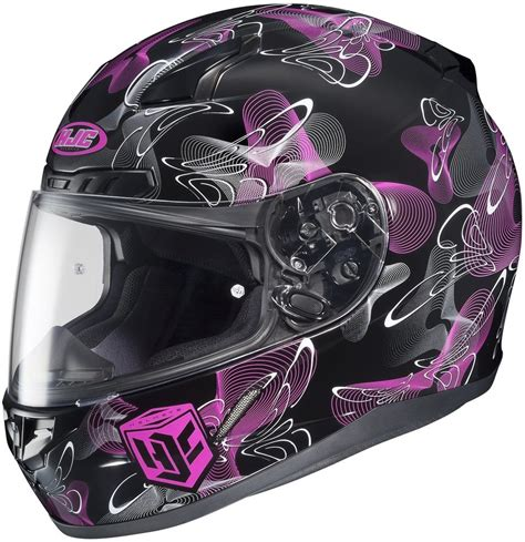 discount womens motorcycle 86 73 hjc womens cl 17 mystic full face helmet 2013 195908