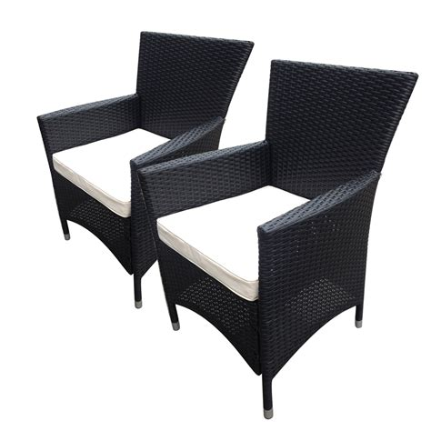 rattan armchairs bentley garden indoor outdoor pair of rattan armchairs 2