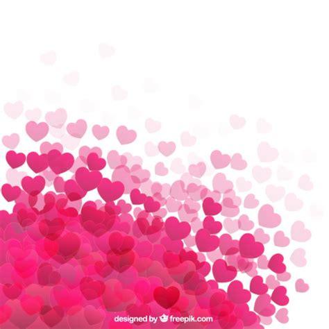 de corazones rosas y rojos sobre un fondo blanco imagenes sin fondo de corazones rosa fuerte descargar vectores gratis
