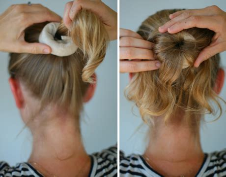 how do you put a pony scrunchie on hair you searched for sock bun say yessay yes