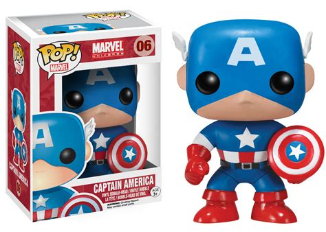 Original Funko Pop Marvel Captain America With Photon Shield 159 captain america pop vinyl figure captain america