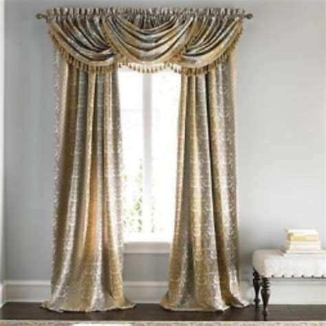 jcpenney curtains rods jcpenney supreme symphony lined rod pocket panel curtain