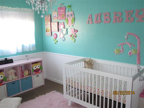kinderzimmer blau pink s blue and pink owl nursery project nursery
