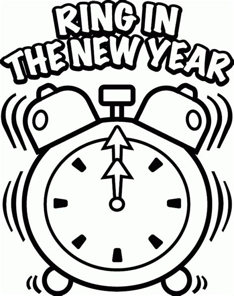 new years coloring pages online get this new years coloring pages online printable 57991