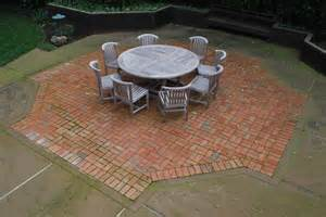 Patio Table Patterns Terrace Simple Patio Brick Patterns Ideas With