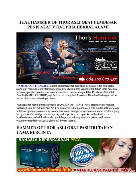 Obat Herbal Hammer Of Thor Pembesar Alat Vital Pria Terbaik Masa Kini obat hammer of thor asli pembesar alat vital pria by hammerofthorasli issuu