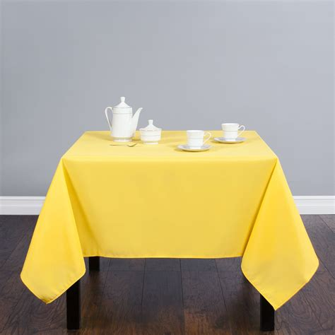 Square Polyester by 70 In Square Polyester Tablecloth