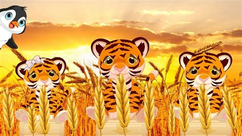 imagenes de tres tristes tigres trabalenguas para ni 241 os tres tristes tigres youtube