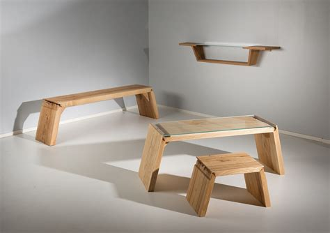 wooden design broken furniture that explores the defects in wood