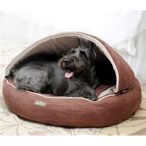 dog bed with hood dog bowls feeders