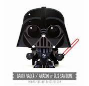 Star Wars  Mini Darth Vader Papertoy Paper Toyfr