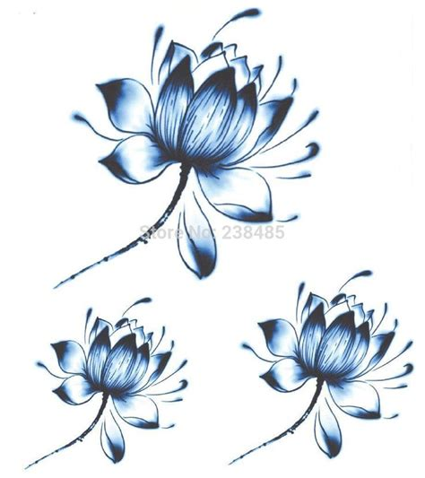 25 best ideas about blue lotus tattoo on pinterest