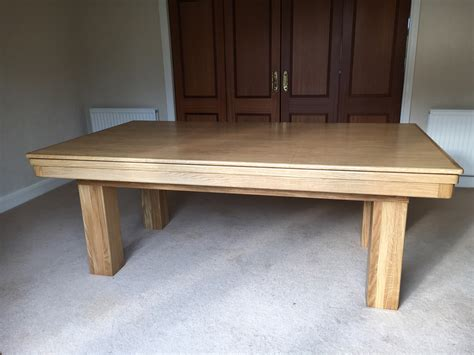 7ft pool dining table modern 7ft pool dining table in oak blue pool table