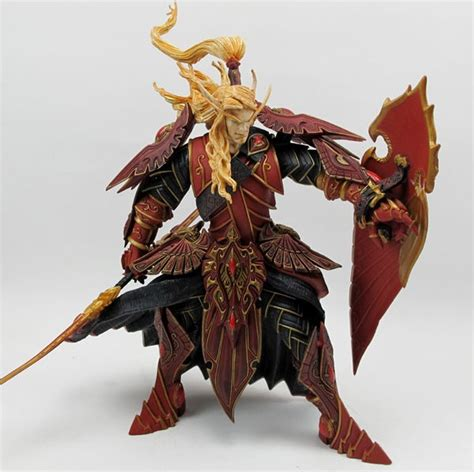 World Of Warcraft Quinthalan Sunfire Dc Unlimited Blizzard Dc Unlimited Series 3 8 Inch Blood Paladin Quinthalan