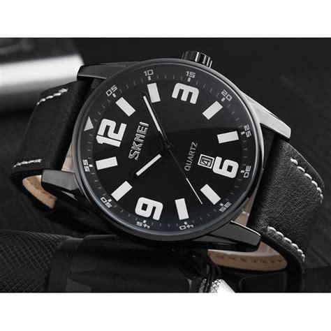 Jam Tangan Sporty Pilot Pria skmei jam tangan analog pilot design pria 9137cl white