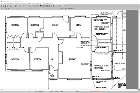 draftsight floor plan how to trace an image in draftsight scan2cad