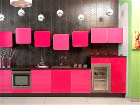 pink kitchen cabinets modern pink kitchen cabinets design ideas and pictures