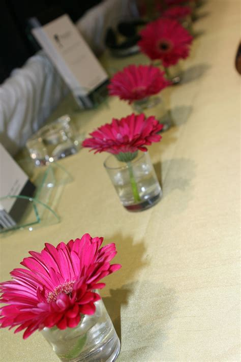 small gerber centerpieces by style www