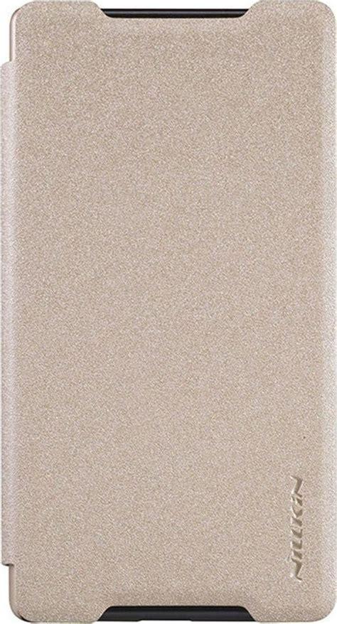 Nillkin Sony Xperia Z5 Compact Gold nillkin flipcover sparkle gold sony xperia z5 compact skroutz gr