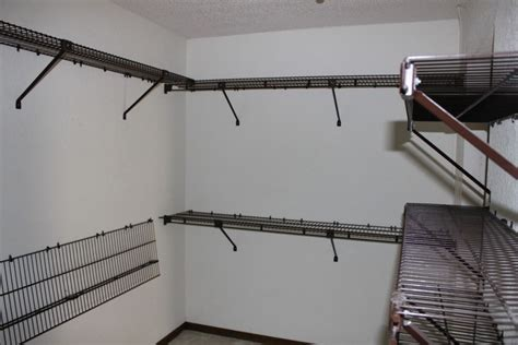 a combination closet wire shelving home decorations