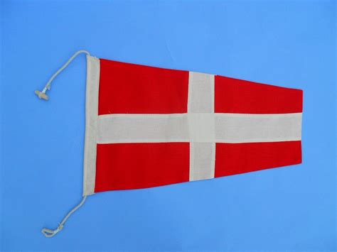nautical flag buy number 4 nautical cloth signal pennant model ship