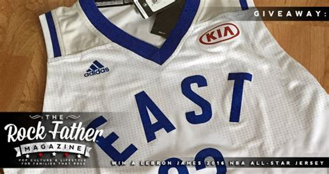 Nba Jersey Giveaway - giveaway win a lebron james 2016 nba all star jersey from kia