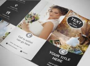 Photography Brochure Templates by Wedding Photography Package Tri Fold Brochure Template