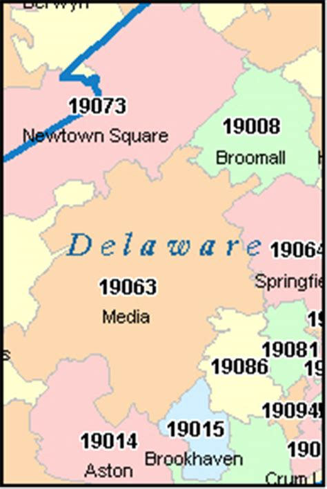 zip code map delaware county pa zipcode 加拿大zipcode usa zipcodemap 第18页 点力图库
