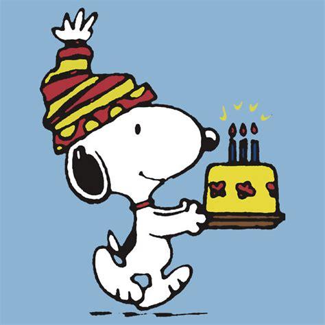 happy birthday images snoopy peanuts happy birthday wallpaper www imgkid com the