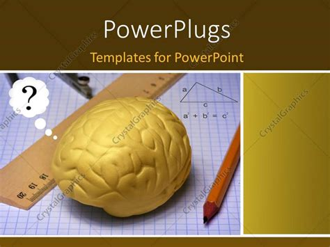 psychology themes for powerpoint 2010 powerpoint template a human brain with drawing material