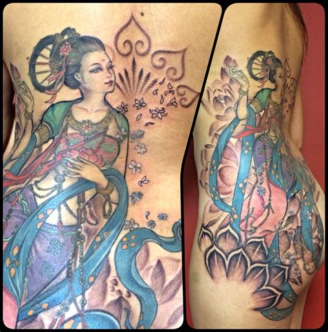 tattoo dynasty style tang dynasty goddess new by