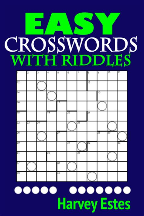 easy crossword puzzles books easy crosswords with riddles