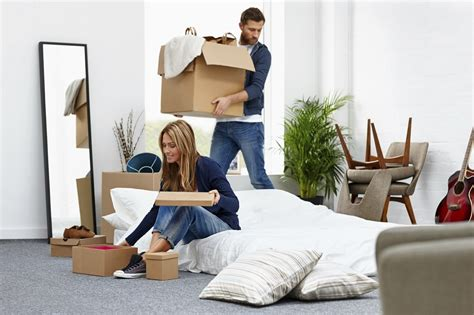 home design for young couple moving house how to let it go and declutter